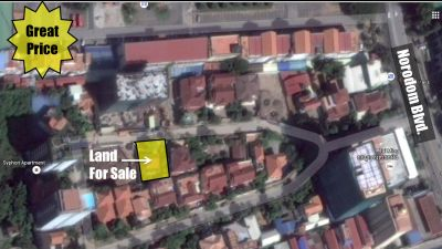 BKK 1, Phnom Penh | Land for sale in Chamkarmon BKK 1 img 0