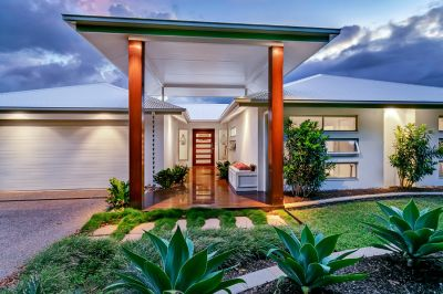Custom Designed and Built   Sophisticated Bluewater Home