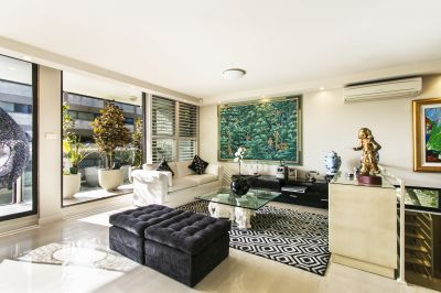 Immaculate Two-Storey Residence, Prized Harry Seidler Building