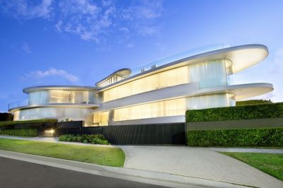 The Butterfly House. A multi-award winning state-of-the-art landmark residence with spectacular harbour views.