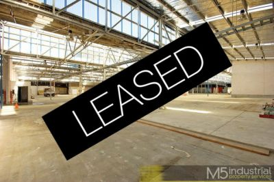 2,567sqm - Quality space on a budget (LEASED)