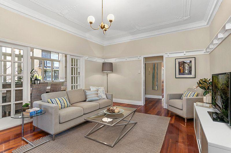 Generous top floor apartment in a tightly-held Art Deco block