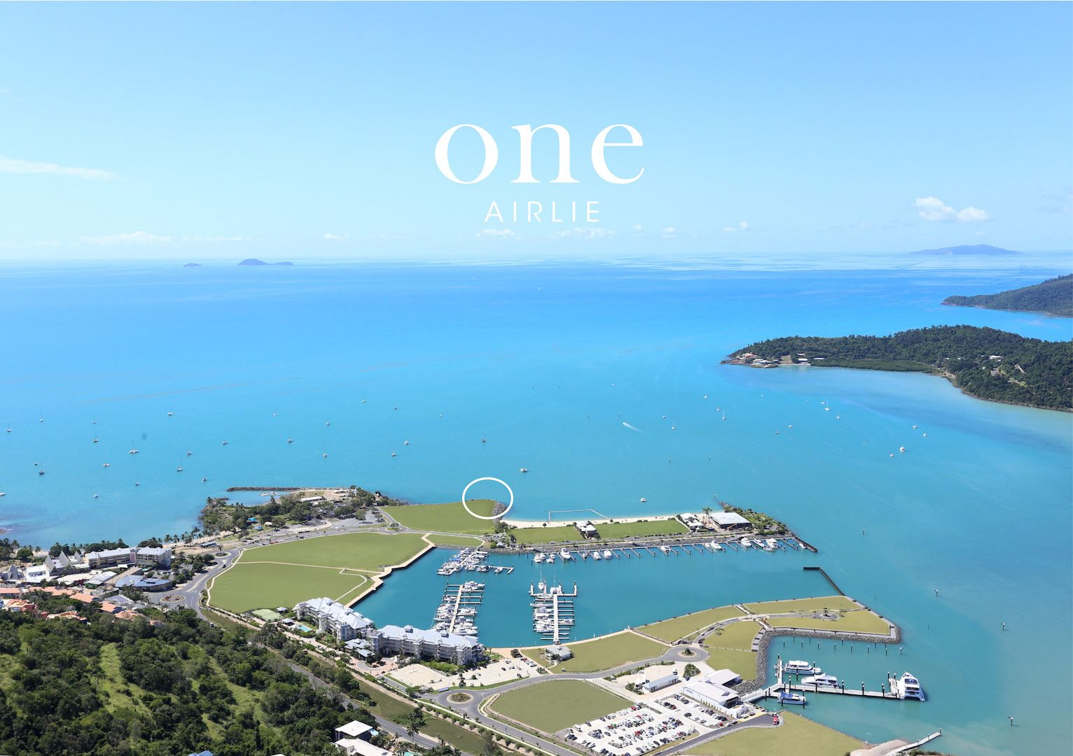 Land / Lot voor Verkoop een t One Airlie - An unrepeatable opportunity to create a luxury Whitsundays residence Airlie Beach, Queensland,4802 Australië