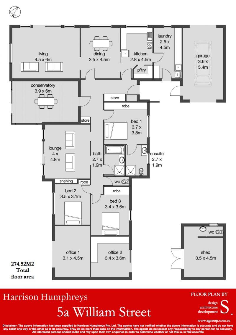 5A William Street Floorplan