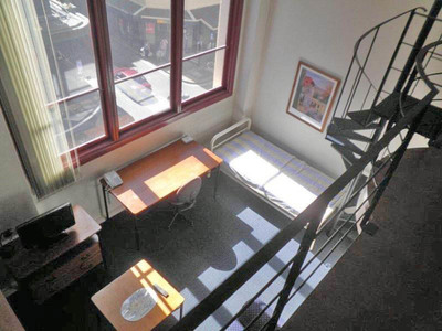 Furnished student loft suite on Broadway