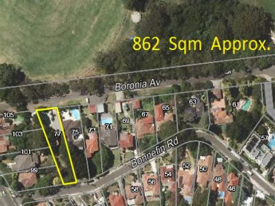 Potential Plus, 862sqm block, Hunters Hill with two street frontage