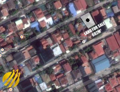 Phsar Daeum Thkov, Phnom Penh   Land for sale in Chamkarmon Phsar Daeum Thkov img 0