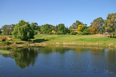 sold by in conjunction real estate.  picturesque: ideal for horses and/or lifestyle. beautiful - has to be seen!.