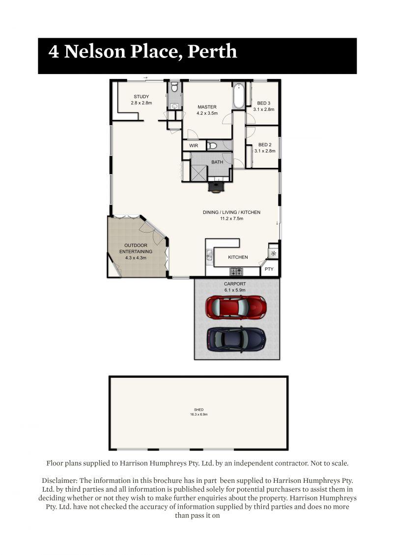 4 Nelson Place Floorplan