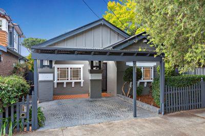 Charming & Tastefully Updated Home Providing Easy Modern Living.