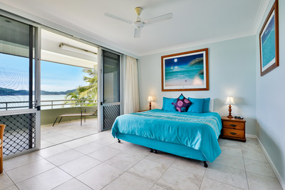 Beach front with uninterrupted views