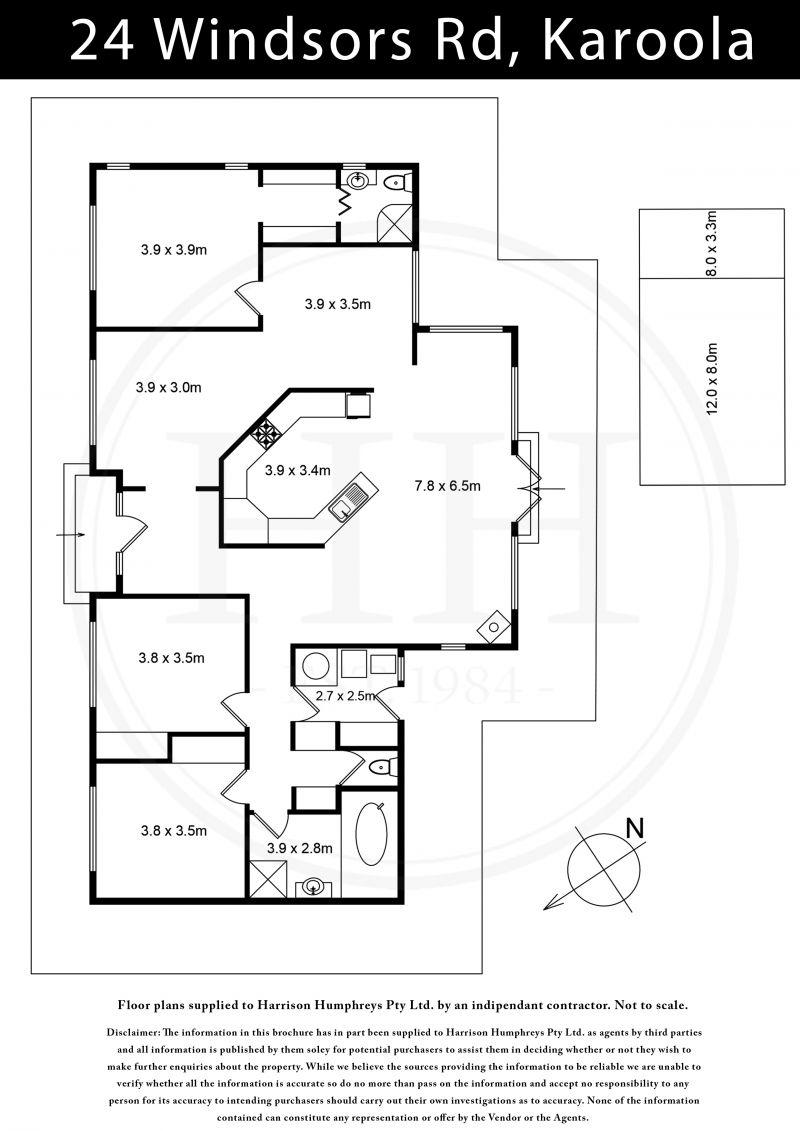 24 Windsors Road Floorplan