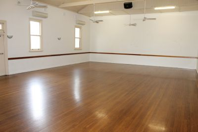Allows Multiple uses + Massive Hall - Three spaces available or Entire building for Lease
