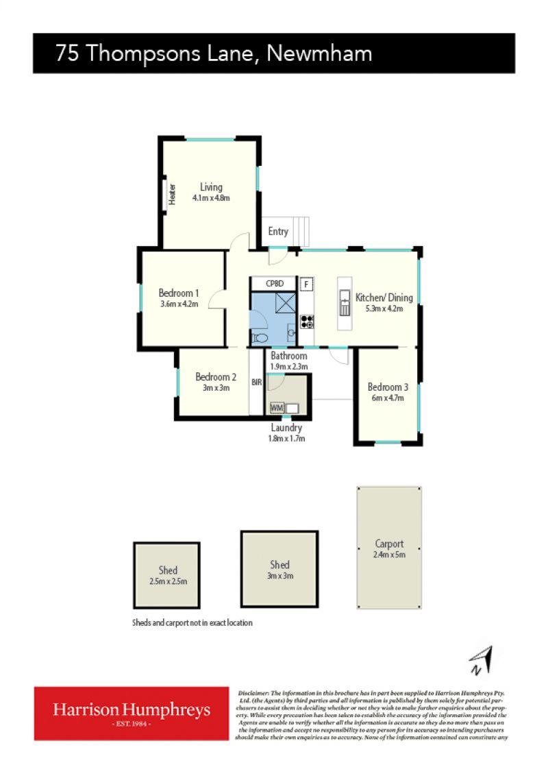 75 Tompsons Lane Floorplan
