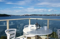 MOSMAN SPECTACULAR HARBOUR EDGE 2BED UNIT. PRICELESS VIEWS, QUALITY INCLUSIONS