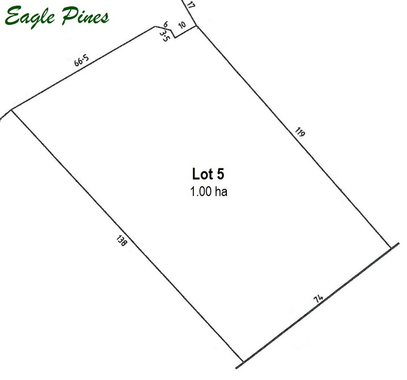 SANDY CREEK - Lot 5 Eagle Pines