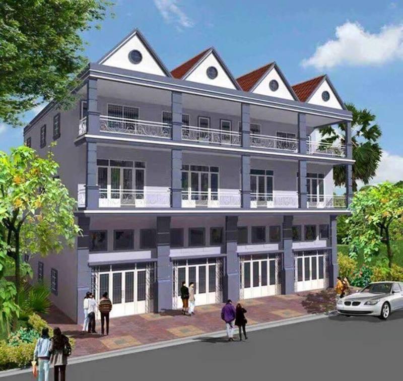River Dolphin Townhouses, Preaek Lieb, Phnom Penh   Borey for sale in Chroy Changvar Preaek Lieb