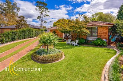 open saturday 12,30-1pm. delightful single level 4 bedroom home on large block with covered parking for caravan or boat plus workman's shed.