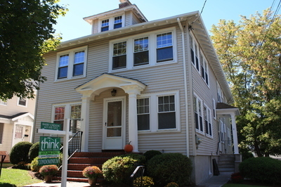 New condo conversion! Located in the heart of Newtonville on a lovely tree-lined street, this spacious condo is filled with sunlight!