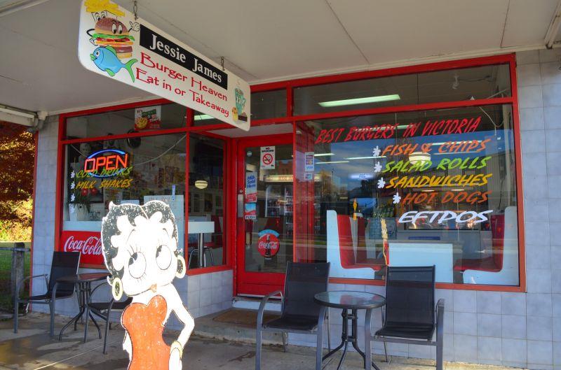 Myrtleford's legendary Jessie James Cafe