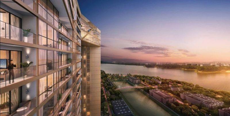 The Peak  Residences, Tonle Bassac, Phnom Penh | New Development for sale in Chamkarmon Tonle Bassac