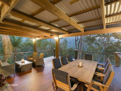 Private Hinterland Retreat on Secluded 12 acres of Natural Bushland