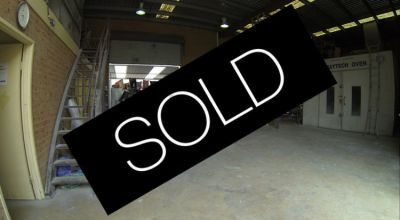 199sqm + Yard - Rare Industrial offering