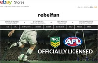 eBay Store - rebelfan (AFL, NRL licensed sports merchandise)