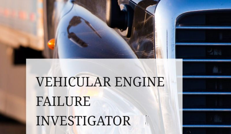 AUTOMOTIVE CONSULTANCY - FORENSIC INVESTIGATIONS FOR VEHICLES/BOATS/CARAVANS