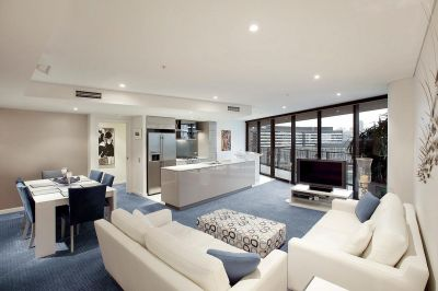 Enjoy CBD and Marina Views From This Deluxe Docklands Delight
