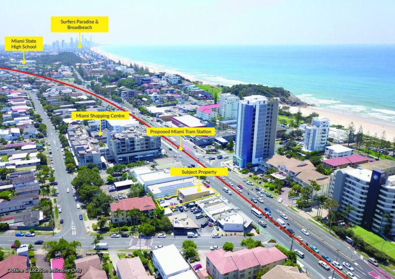 Triple Net Lease-Investment in Miami on Gold Coast Highway
