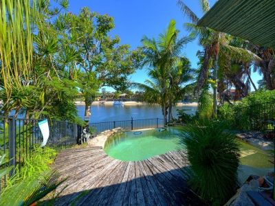 Rare Duplex on Widewater with Pool! Be Quick!