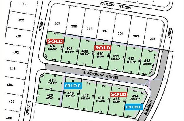 Lot 420 Blacksmith Street, WAUCHOPE NSW 2446