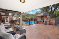 Family and entertainers delight with pool and reserve at rear