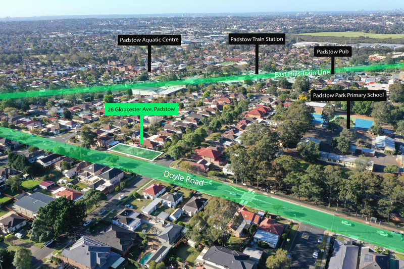 Significant corner land holding with future R4 high density rezoning STCA**