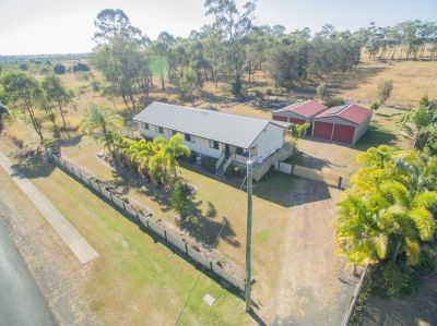 4 BEDROOMS + 2 BATHROOMS & 2 – 6M X 6M DOUBLE BAY SHEDS