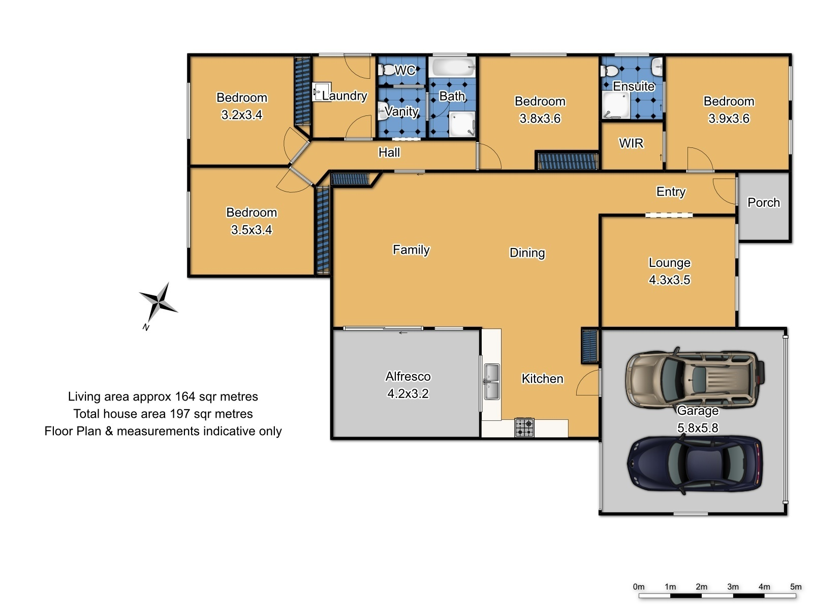 72  Diamond Drive - Floor Plan