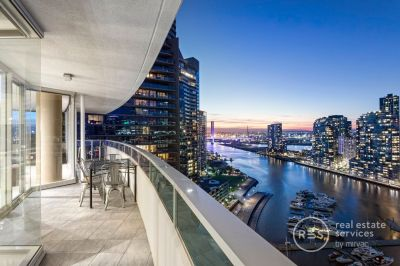 Expansive corner residence with almost 360 degree views!