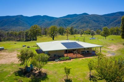 Fully fenced 12 acres perfect for a horse loving family.