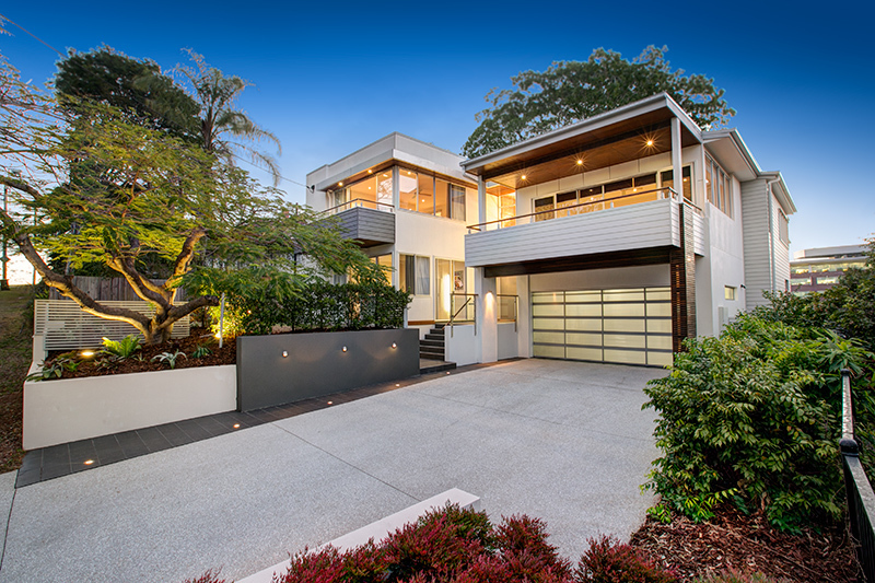This contemporary family masterwork displays extraordinary architectural design, multiple living zones and bespoke finishes