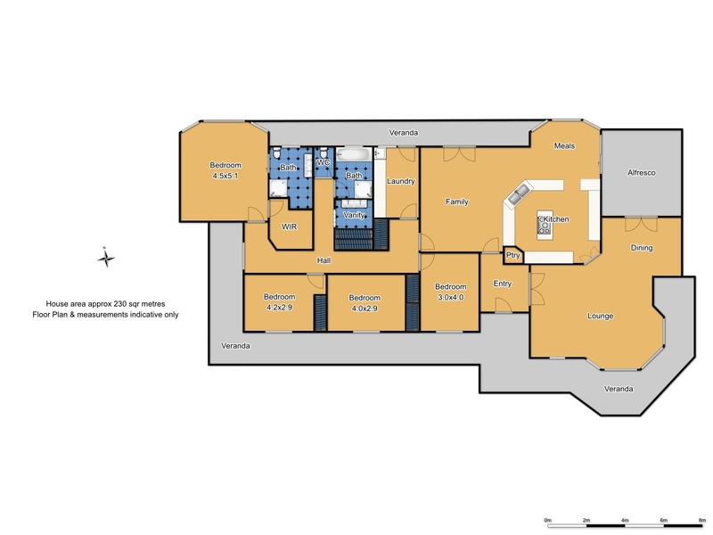74 Canobolas Road - Floor Plan