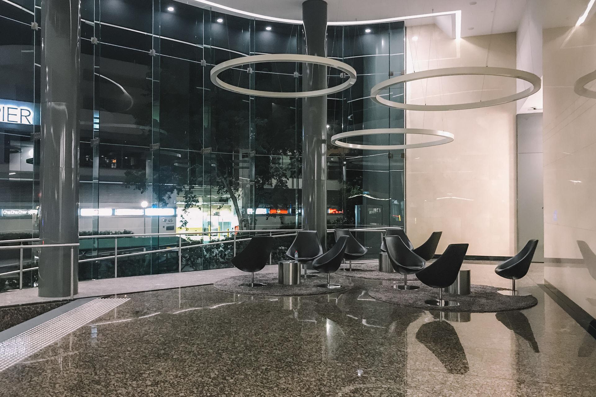3-person workspace located in Brisbane CBD's Financial Precinct
