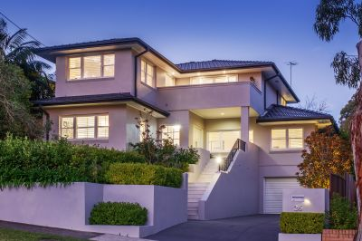 Impeccable family entertainer in a serene yet convenient Chatswood location