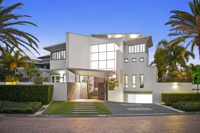 Contemporary Four Level Residence