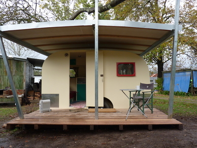 Your Home plus A QUIRKY, RETRO CARAVAN PARK IN STUNNING LOCATION