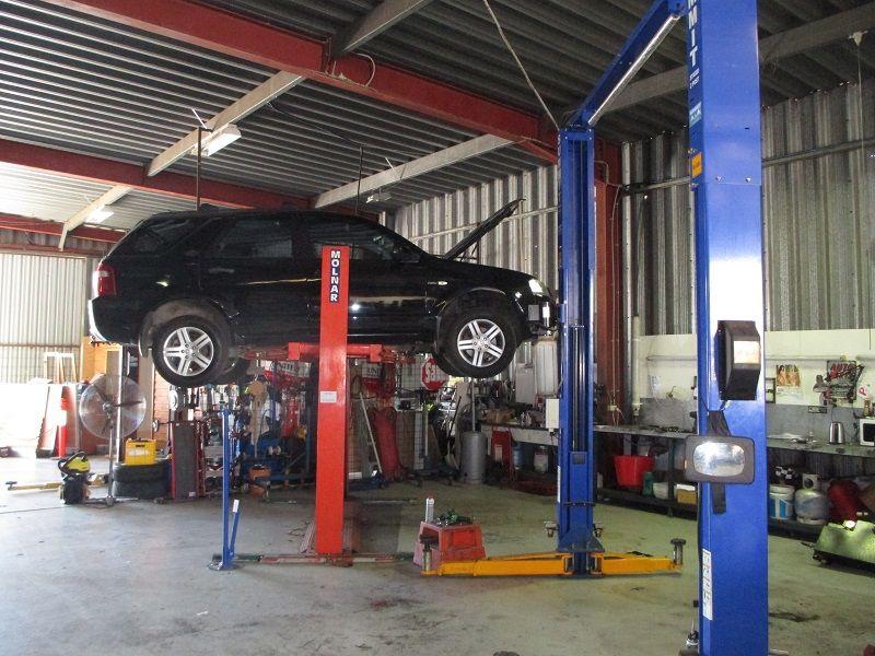 Mechanical Workshop.