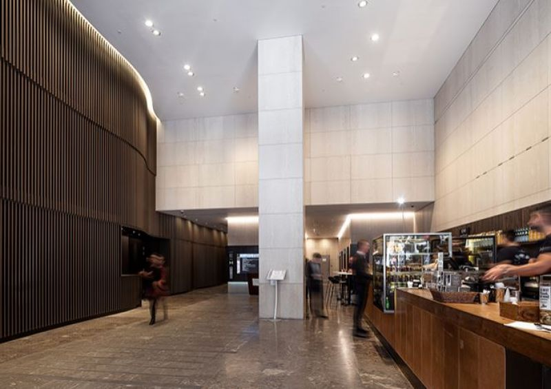 Lease office space in a sustainably designed building in the heart of Sydney's CBD