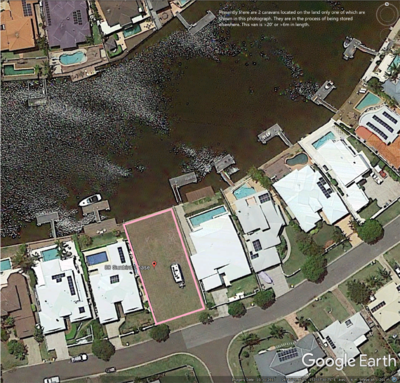 Prime waterfront land at Parrearra on Queensland's Sunshine Coast