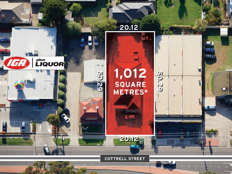 Securely leased to national tenant with significant future development potential