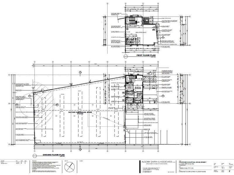 Modern Freestanding Industrial Building